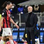 Stefano Pioli Komentari Kartu Merah Yang Terjadi Pada Ibrahimovic Itu Salah Paham!